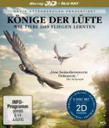 Könige der Lüfte - Wie Tiere das fliegen lernten - Blu-ray 3D + 2D (Blu-ray)