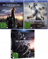 Die Bestimmung - Insurgent + Divergent + Allegiant - Deluxe Fan Edition - Set (Blu-ray)