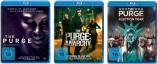 The Purge - Die Säuberung + Anarchy + Election Year / 1-3 Set (Blu-ray)