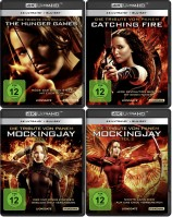 Die Tribute von Panem 1-3 Set - 4K Ultra HD Blu-ray + Blu-ray (Ultra HD Blu-ray)