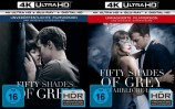 Fifty Shades of Grey 1+2 Set / Geheimes Verlangen + Gefährliche Liebe 4K Ultra HD Blu-ray + Blu-ray (Ultra HD Blu-ray)