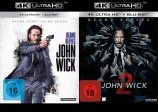 John Wick 1+2 - 4K Ultra HD Blu-ray + Blu-ray Set (Ultra HD Blu-ray)