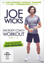 Joe Wicks - Das Body Coach Workout Level 1-4 (DVD)