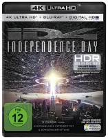 Independence Day - Kinofassung & Extended Cut / 4K Ultra HD Blu-ray + Blu-ray (Ultra HD Blu-ray)