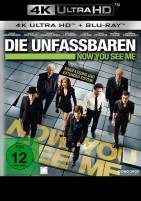 Die Unfassbaren - Now You See Me - Kinofassung & Extended Edition / 4K Ultra HD Blu-ray + Blu-ray (Ultra HD Blu-ray)