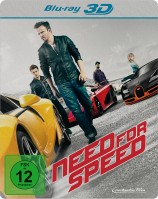 Need for Speed 3D - Blu-ray 3D + 2D / Steelbook (Blu-ray)