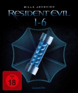 Resident Evil 1-6 - Blu-ray 3D + 2D (Blu-ray)