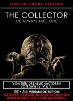 The Collector - He always takes one! - Limited Black Book Edition (Blu-ray)
