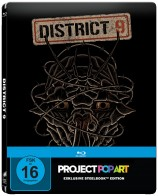 District 9 - Steelbook-Edition / Popart (Blu-ray)