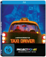 Taxi Driver - Steelbook-Edition / Popart (Blu-ray)