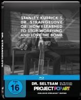 Dr. Seltsam - Oder: wie ich lernte, die Bombe zu lieben - Steelbook-Edition / Popart (Blu-ray)