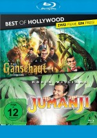 Gänsehaut & Jumanji - Best of Hollywood - 2 Movie Collector's Pack (Blu-ray)