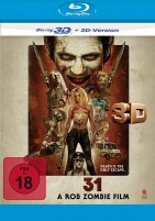 31 - A Rob Zombie Film - Blu-ray 3D + 2D (Blu-ray)
