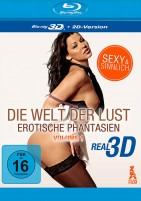Die Welt der Lust - Erotische Phantasien - Vol. 01 / Blu-ray 3D + 2D (Blu-ray)