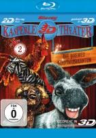 Kasperle Theater 3D - Teil 2 / Die Bremer Stadtmusikanten / Blu-ray 3D + 2D (Blu-ray)