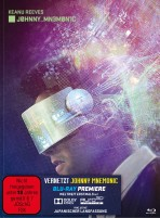 Vernetzt - Johnny Mnemonic - Limited Edition Mediabook (Blu-ray)