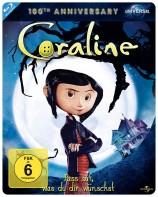Coraline - 100th Anniversary Limited Steelbook Edition (Blu-ray)