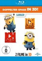 ICH - einfach unverbesserlich 1+2 - Blu-ray 3D + 2D (Blu-ray)