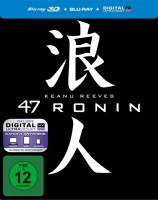 47 Ronin - Blu-ray 3D + 2D + Digital Copy / Limited Steelbook (Blu-ray)