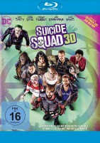 Suicide Squad - Blu-ray 3D / Extended Cut & Kinofassung (Blu-ray)