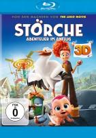 Störche - Abenteuer im Anflug - Blu-ray 3D + 2D (Blu-ray)