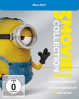 Minions - 3 Movie Collection / Limited Steelbook (Blu-ray)