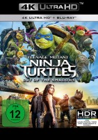 Teenage Mutant Ninja Turtles - Out of the Shadows - 4K Ultra HD Blu-ray + Blu-ray (Ultra HD Blu-ray)