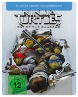 Teenage Mutant Ninja Turtles - Out of the Shadows - Blu-ray 3D + 2D + Bonus-Disc / Steelbook (Blu-ray)