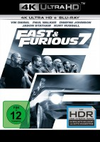 Fast & Furious 7 - 4K Ultra HD Blu-ray + Blu-ray (Ultra HD Blu-ray)