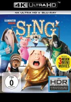 Sing - 4K Ultra HD Blu-ray + Blu-ray (Ultra HD Blu-ray)