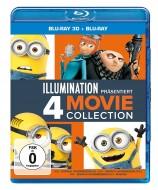 ICH - einfach unverbesserlich 1-3 & Minions - Blu-ray 3D + 2D (Blu-ray)