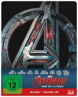 Avengers - Age of Ultron - Blu-ray 3D + 2D / Steelbook (Blu-ray)