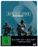 Rogue One - A Star Wars Story - Blu-ray 3D + 2D / Steelbook (Blu-ray)