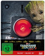 Guardians of the Galaxy Vol. 2 - Blu-ray 3D + 2D / Steelbook Edition (Blu-ray)