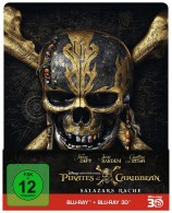 Pirates of the Caribbean: Salazars Rache - Steelbook Edition / Blu-ray 3D + 2D (Blu-ray)