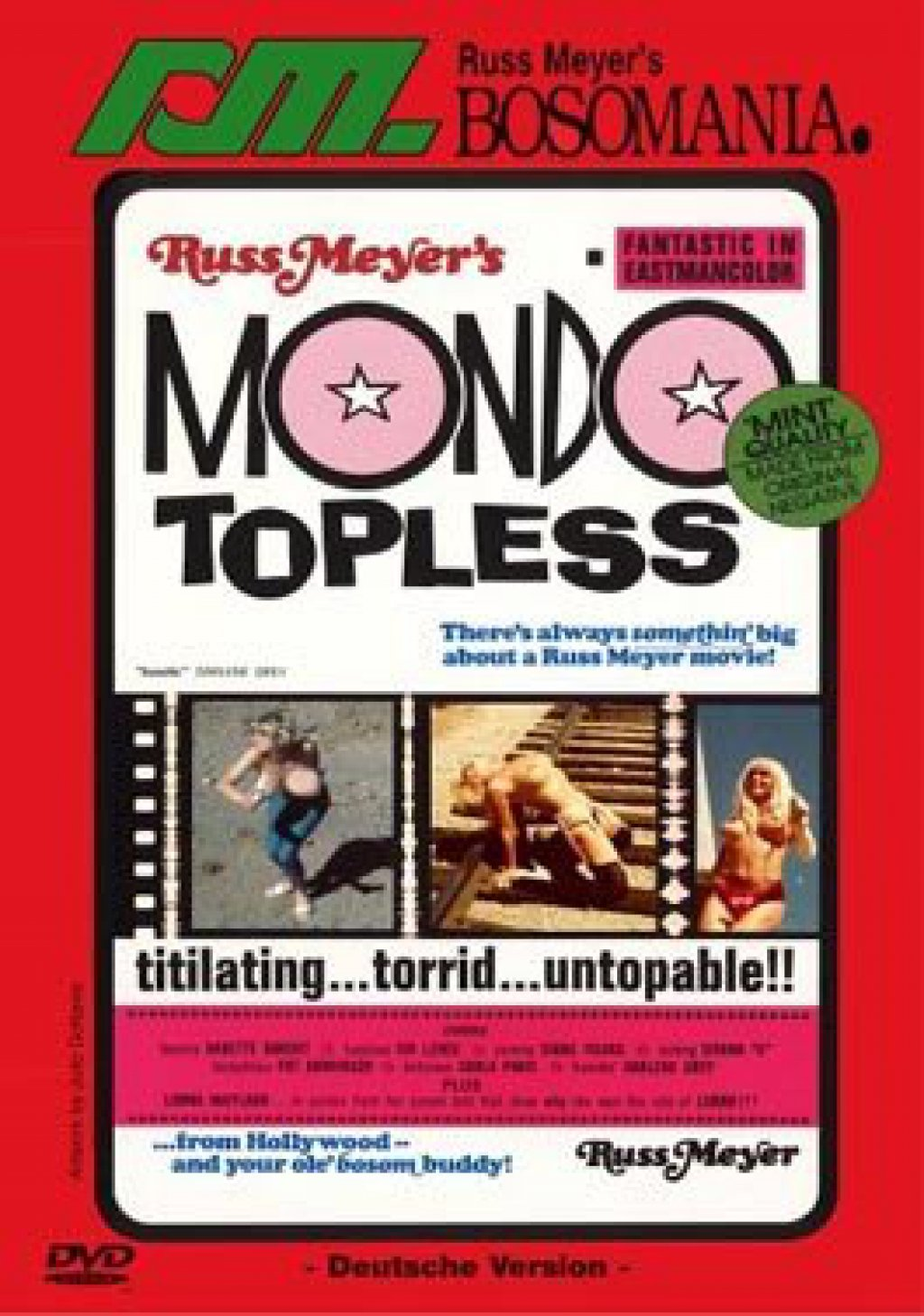 Russ Meyer's Bosomania - Mondo Topless (DVD)