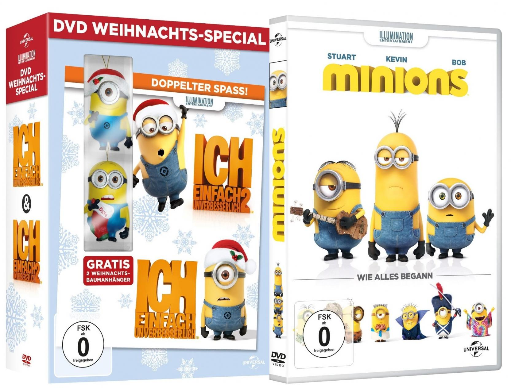 minions dvd. Black Bedroom Furniture Sets. Home Design Ideas