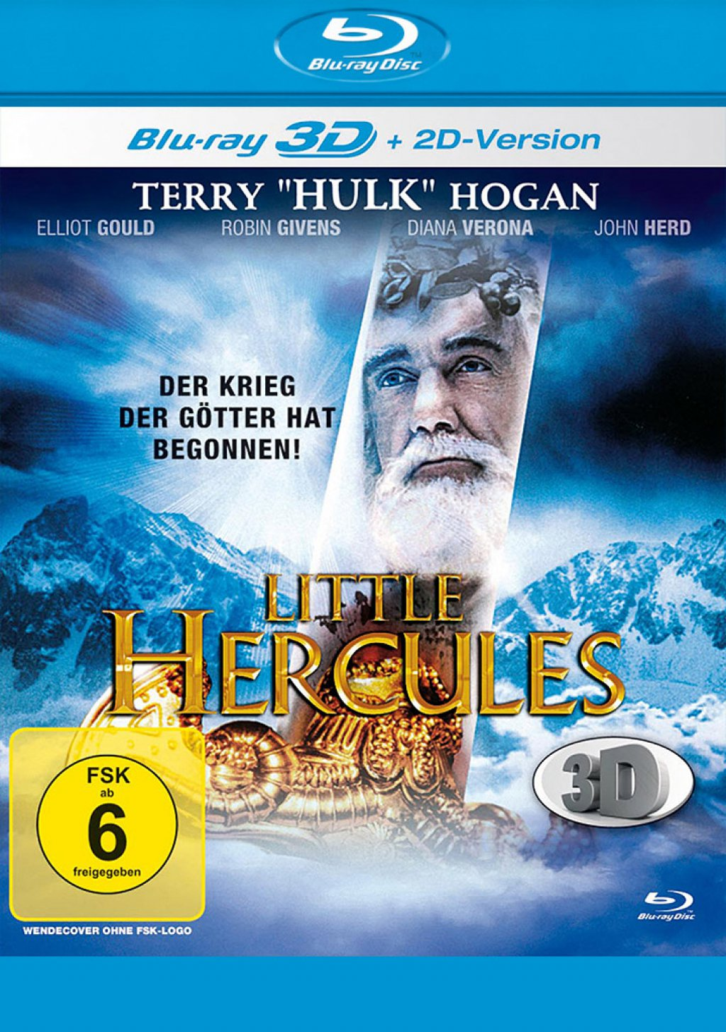 Little Hercules 3D - Blu-ray 3D + 2D (Blu-ray)