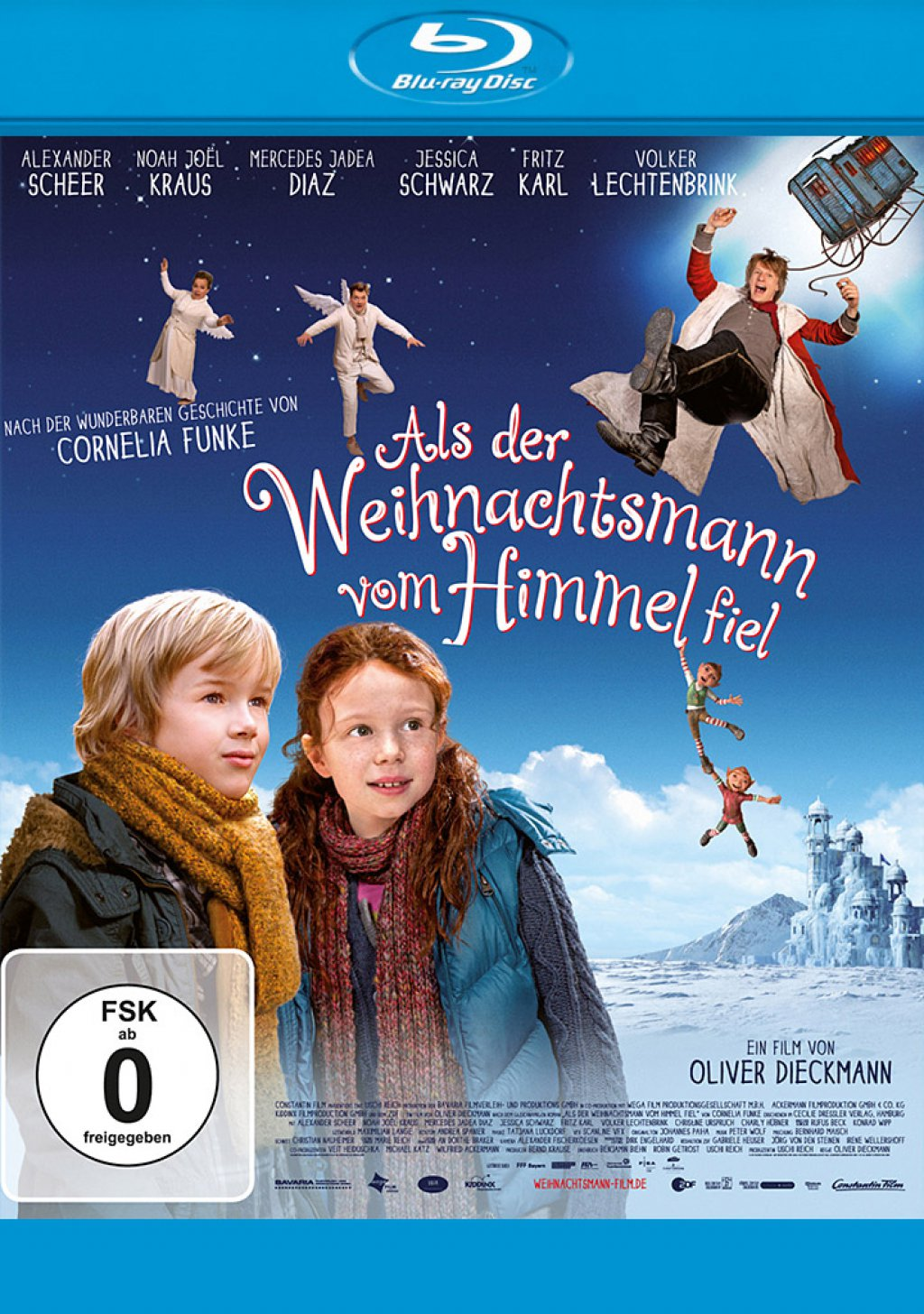 Als der Weihnachtsmann vom Himmel fiel (Blu-ray) 