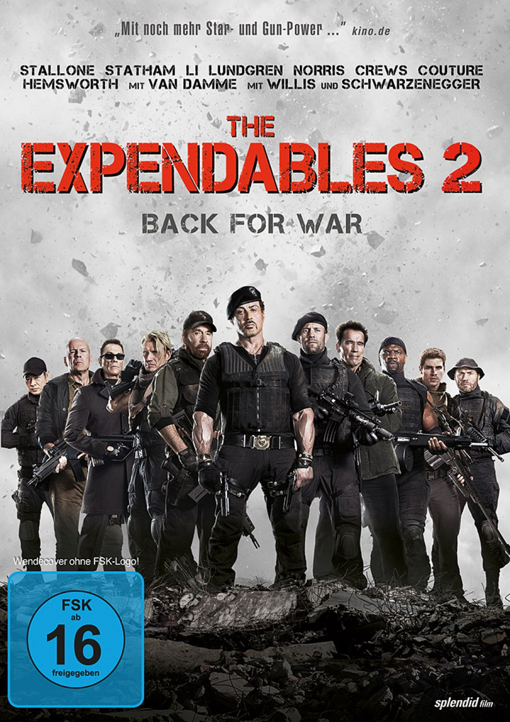 The Expendables 2 - Back For War (DVD)