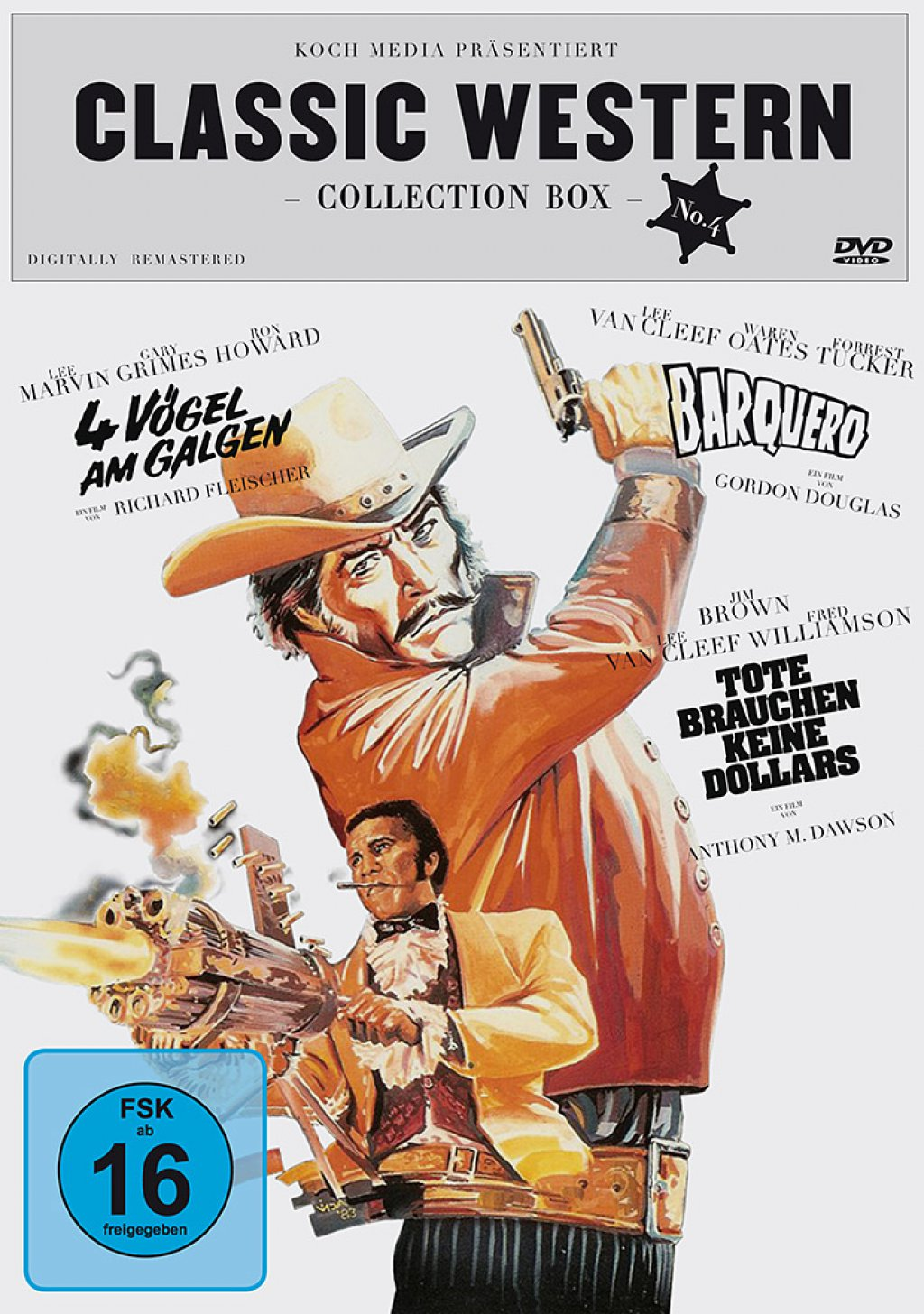Classic Western Collection - Box 04 (DVD)
