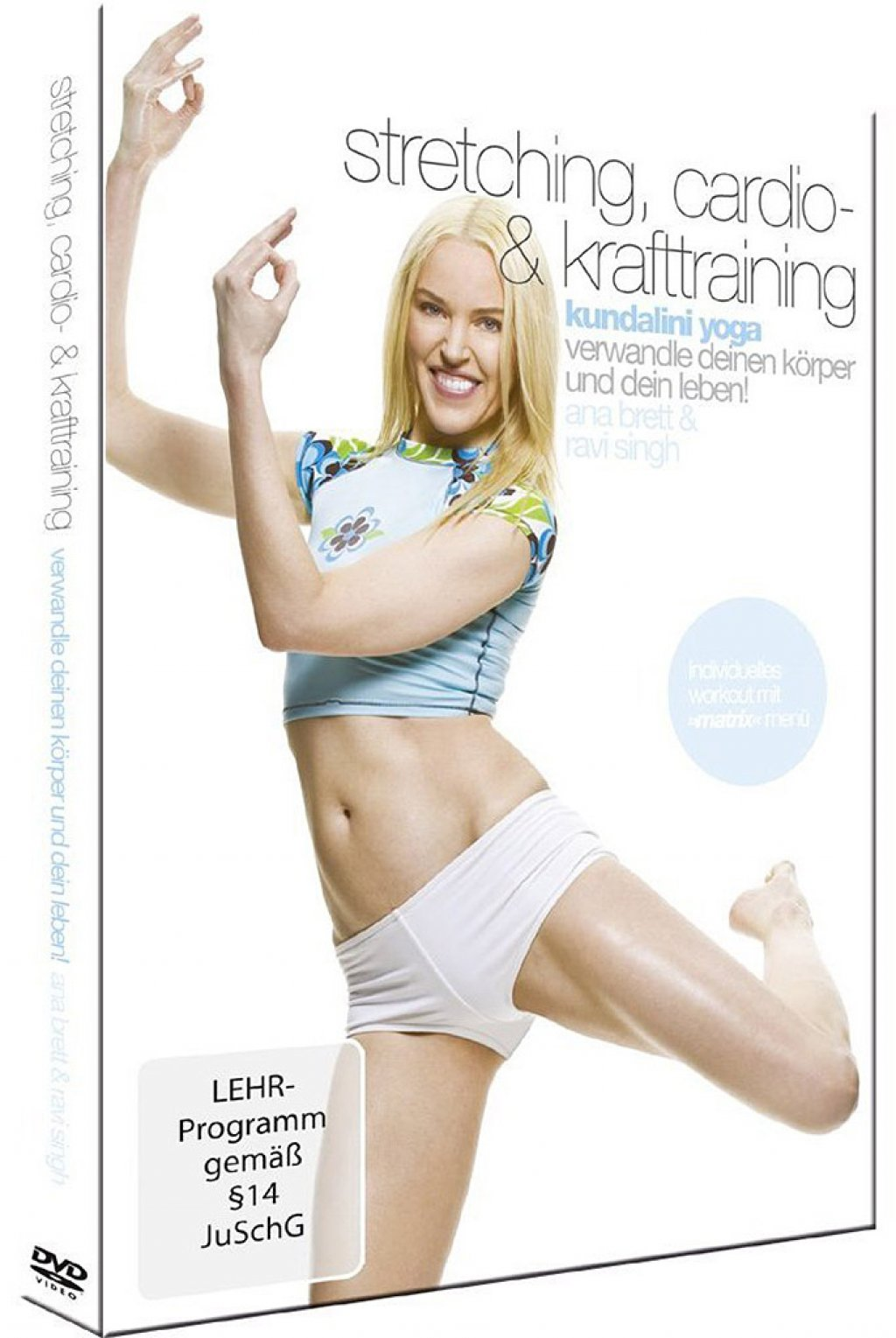Stretching, Cardio-& Krafttraining - Kundalini Yoga (DVD)