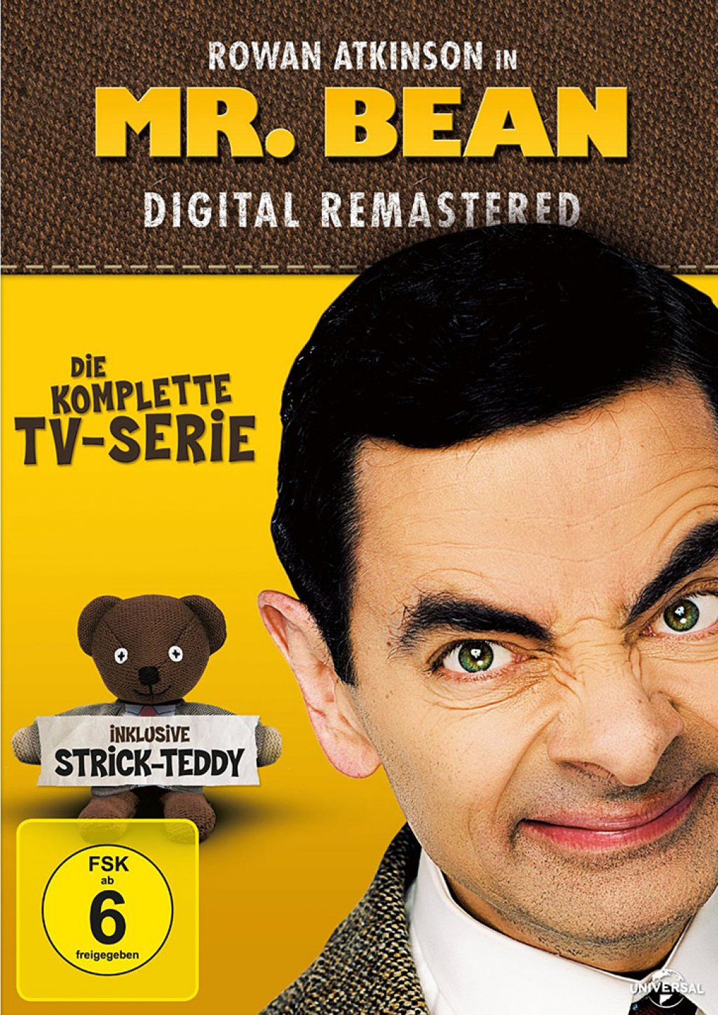 Mr. Bean - Die komplette TV-Serie - Digital Remastered / inkl. Strick-Teddy (DVD)