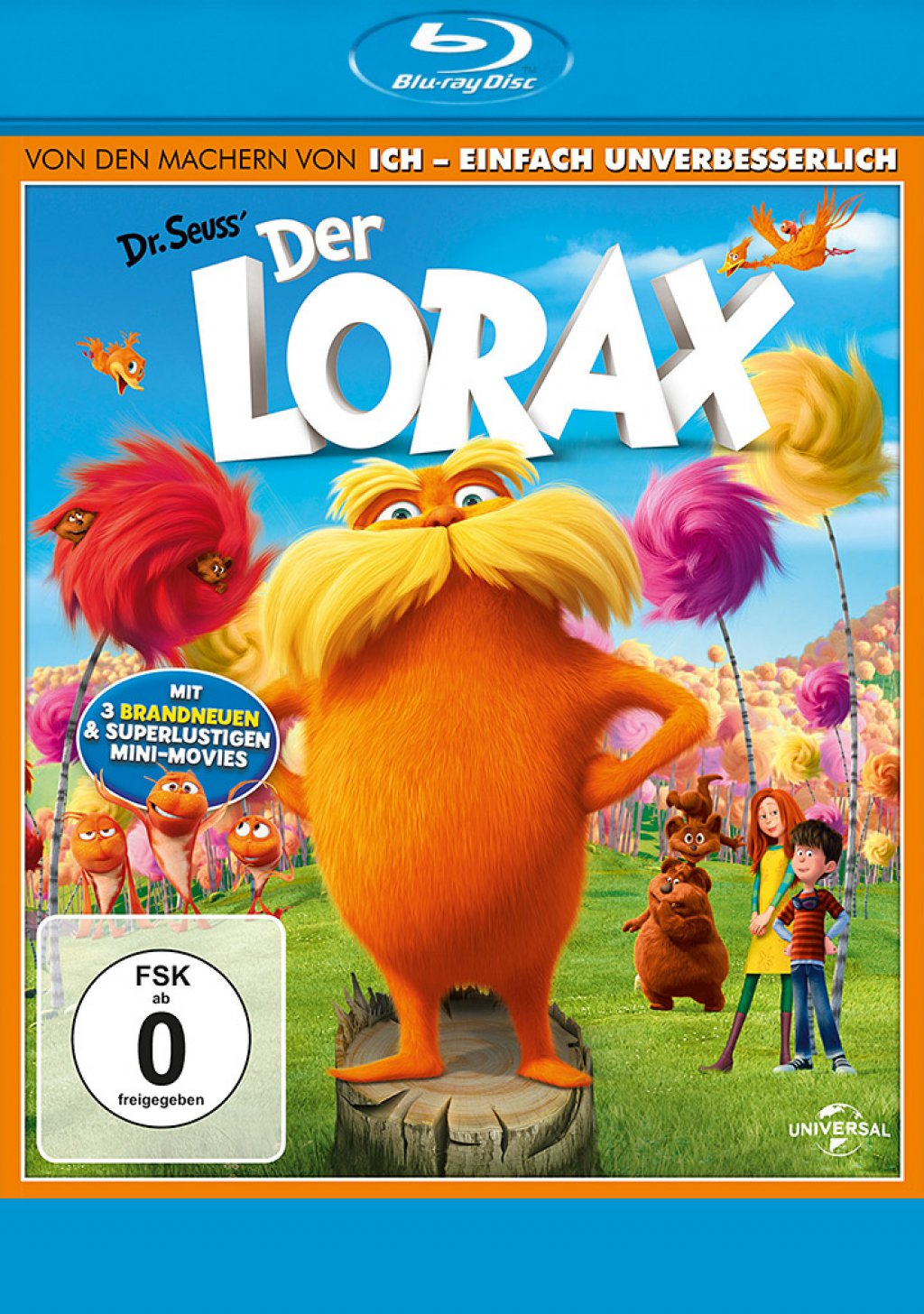 Der Lorax (Blu-ray) 