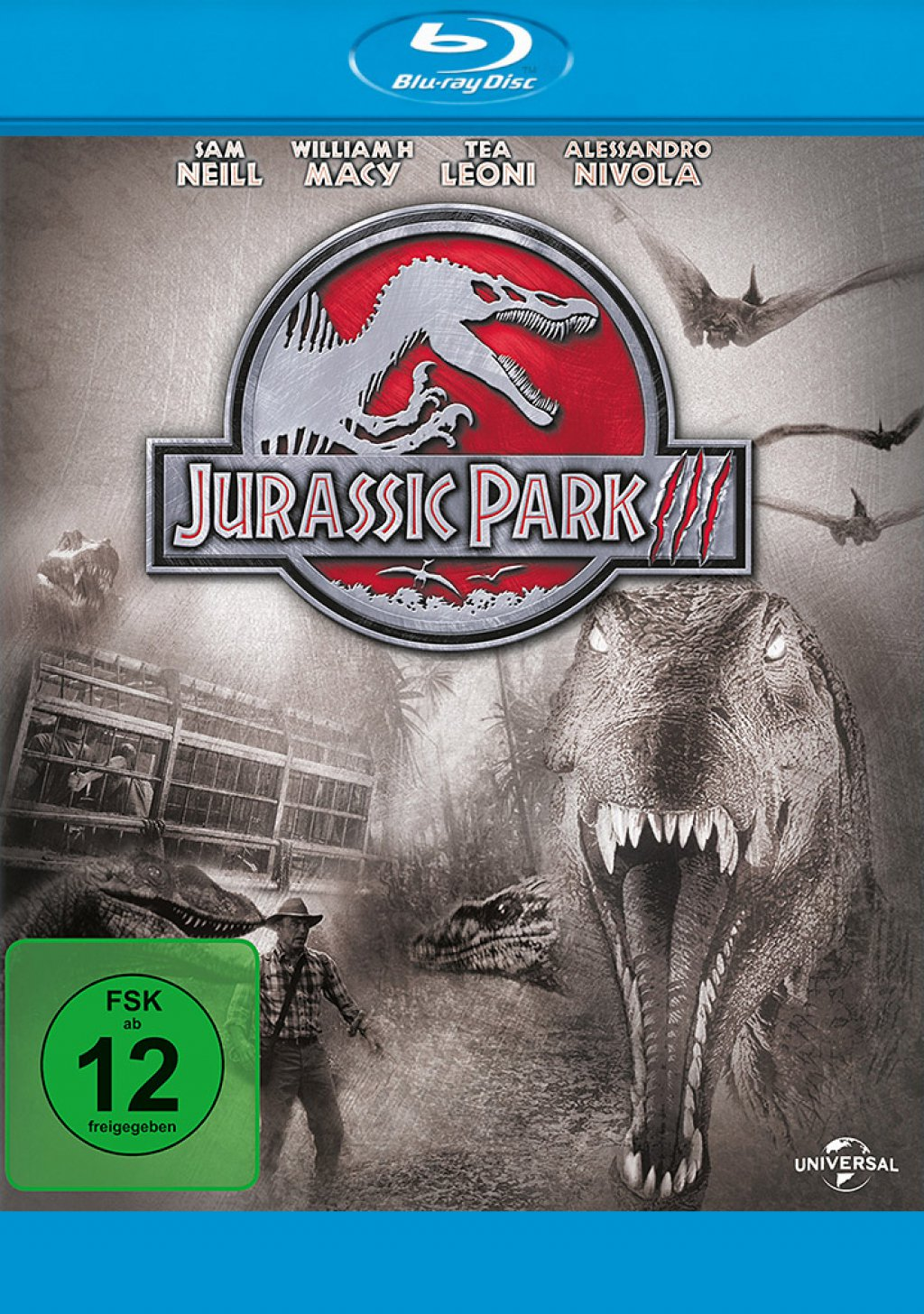 Jurassic Park III (Blu-ray) 