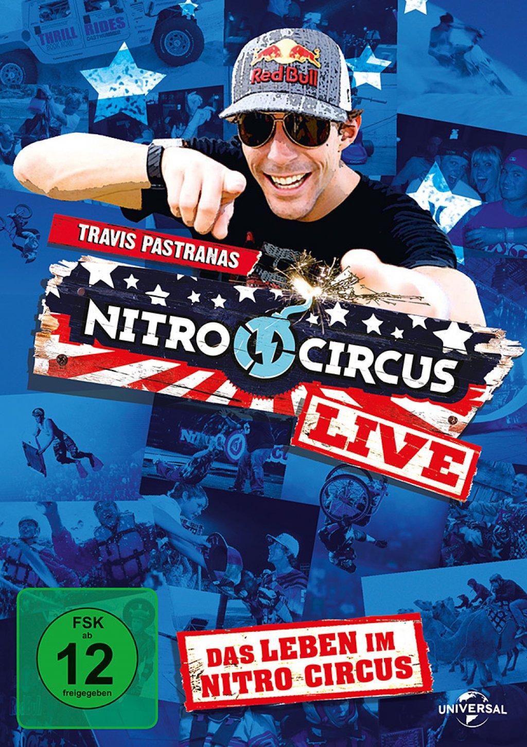Nitro Circus Live - Das Leben im Nitro Circus! (DVD)