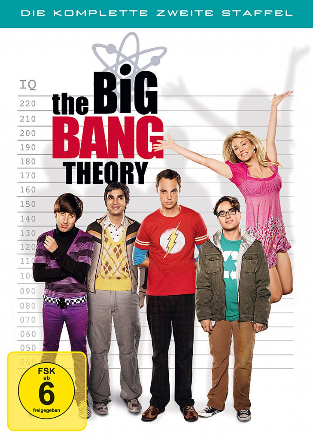 The Big Bang Theory - Staffel 2 (DVD)