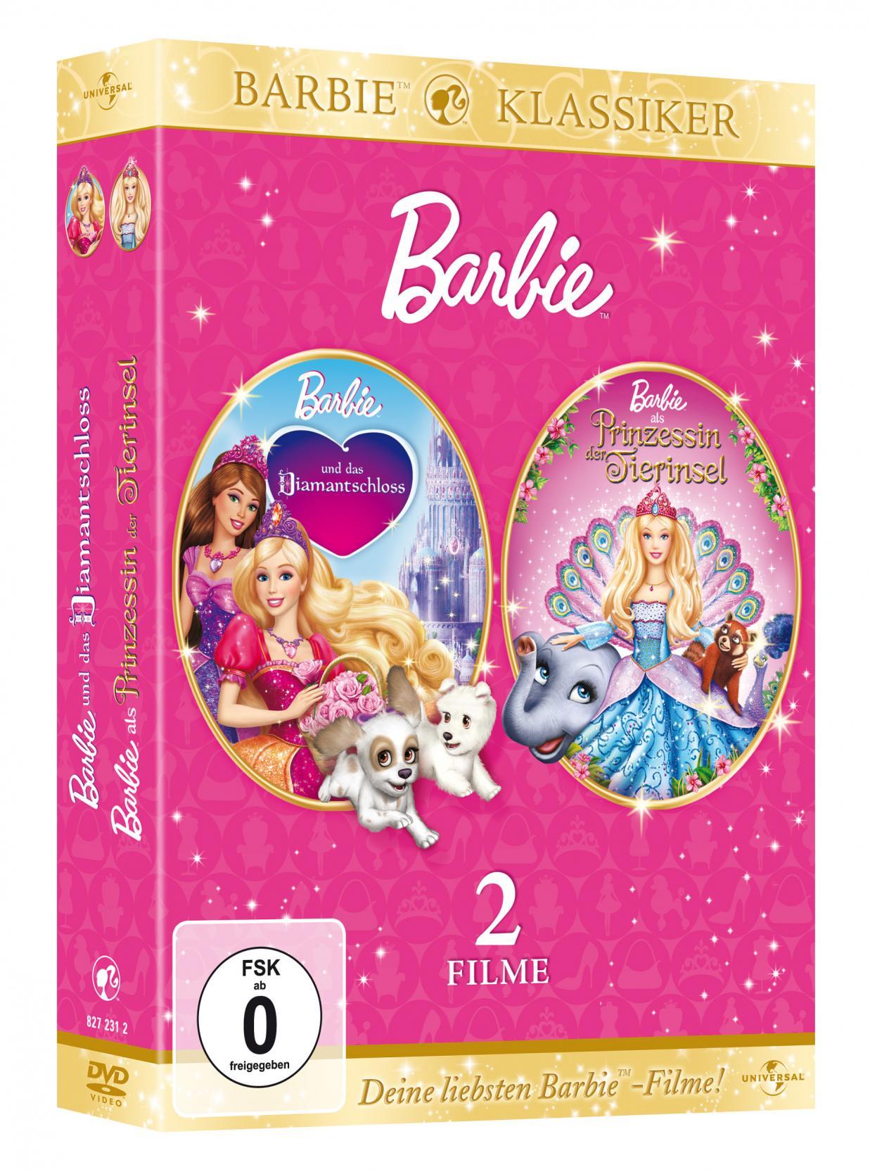 Hilka Tools Barbie als Prinzessin der Tierinsel + und das Diamantschloss