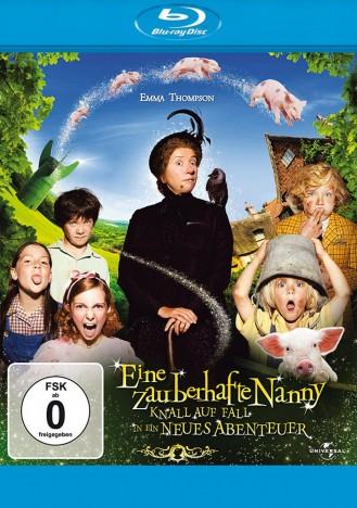 Eine zauberhafte Nanny - Knall auf Fall in ein neues Abenteuer (Blu-ray)