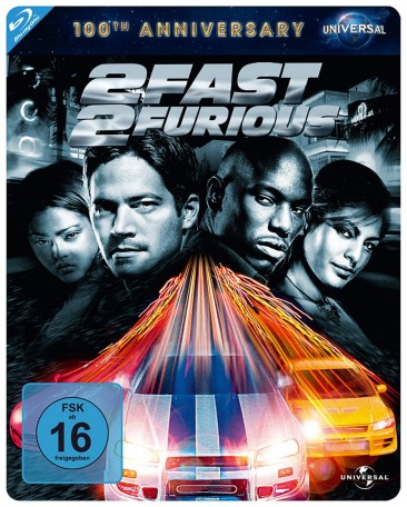 2 Fast 2 Furious - 100th Anniversary Limited Steelbook Edition (Blu-ray)